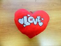 Декоративная подушка СЕРДЦЕ LOVE