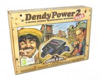 Игровая приставка к ТВ Dendy (Денди) Power 2 mini