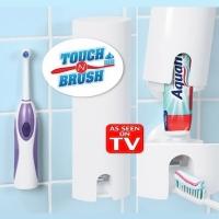АКЦИЯ! Дозатор для зубной пасты Touch N Brush (Тач-н-Браш)