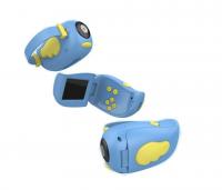 Детская фотоаппарат-видеокамера А100 голубой