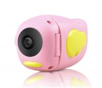 Детская фотоаппарат-видеокамера А100 розовая