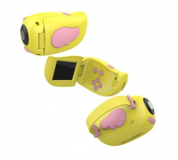 Детская фотоаппарат-видеокамера А100 желтый
