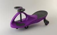 Детская самоходная машинка PlasmaCar (Плазмакар) оригинал, цвет пурпурный, полиуритановые колеса.