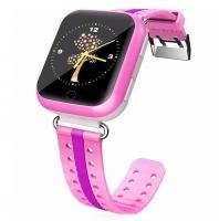 Детские часы GPS трекер Smart Baby Watch Q100 GW200S Розовые