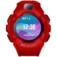 Детские умные часы Smart baby watch Jet Kid Gear Red
