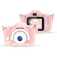 Детский фотоаппарат Кошечка розовый