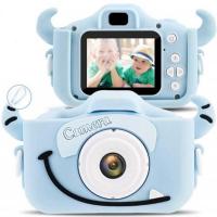 Детский фотоаппарат Кошечка, Монстрик синий