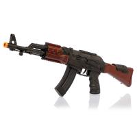 Детский пистолет автомат трещотка АК-47