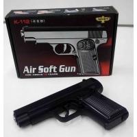 Детский пневматический металлический пистолет К 112