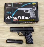 Детский пневматический металлический пистолет К 17 A