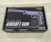 Детский пневматический металлический пистолет V2