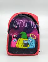 Детский рюкзак Among us красный