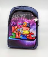 Детский рюкзак Among us синий