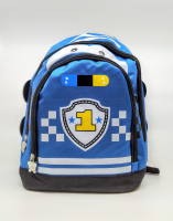 Детский рюкзак тачки синий