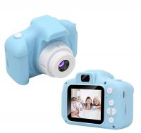 Детский цифровой фотоаппарат GBS-Kids голубой АКЦИЯ!