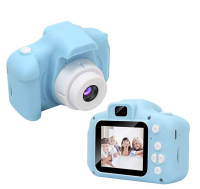 Детский цифровой фотоаппарат GBS-Kids голубой