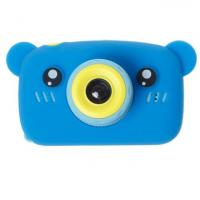 Детский цифровой фотоаппарат X500 мишка синий