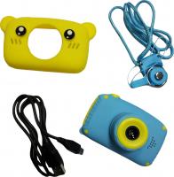 Детский цифровой фотоаппарат X500 мишка желтый