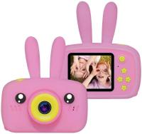 Детский цифровой фотоаппарат X500 зайка розовый