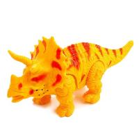 Динозавр Трицератопс ходит, световые и звуковые эффекты