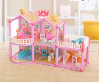 Дом для кукол Кукольный домик с аксессуарами