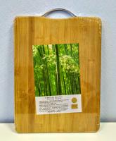 Доска разделочная бамбук 26х35