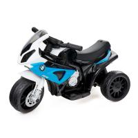 Электромотоцикл BMW S1000 RR, кожаное сиденье
