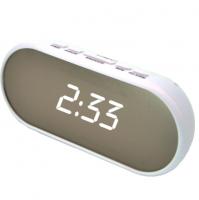 Электронные часы - будильник VST 712 белые