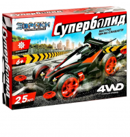 Электронный конструктор Суперболид, 4WD, ЭВРИКИ