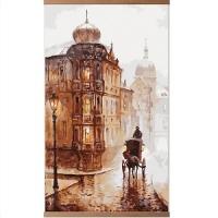 Настенный инфракрасный пленочный обогреватель картина Старая Прага