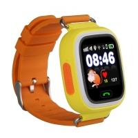 Умные часы SMART BABY WATCH Q90 оранжевый