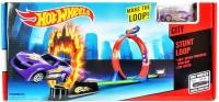 Трек Хот вилс + 1 машинка (hot wheels) HW-01 Огненное кольцо