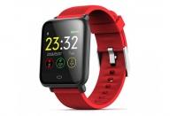 Фитнес браслет Hello Q9 smart bracelet (комплект из 2-х ремешков черный и красный)