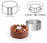 Форма для торта круглая 16-30см