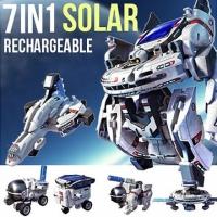 Конструктор Звездный флот на солнечной батареи 7 В 1 SOLAR ROBOT ЭВРИКИ