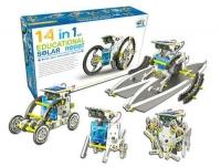 Конструктор 14 В 1 на солнечной батареи SOLAR ROBOT ЭВРИКИ
