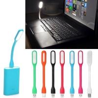 Гибкая светодиодная USB лампа: цвет в ассортименте