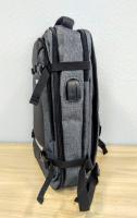 Городской бизнес рюкзак LOUI VEARNER серый