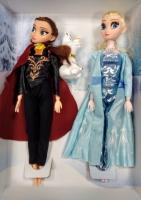 Кукла Холодное сердце набор 2 в 1 и снеговик