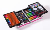 Художественный набор для рисования в чемодане 145 предметов
