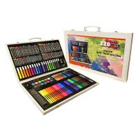 Художественный набор для рисования в чемодане 220 предметов