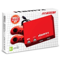 Игровая приставка Hamy 4 Red (350 игр)