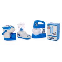 Игрушечная детская техника Мой дом: холодильник, миксер, термопот, блендер набор АКЦИЯ!