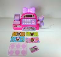 Игровой набор магазин касса со сканером