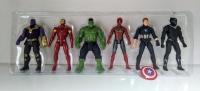 Игровой набор Мстители Супер герои 6 в 1