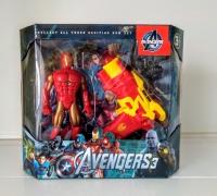 Игровой набор Мстители железный человек (фигурка+бластер)