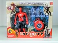 Игровой набор Супер герои (Человек паук + проектор)