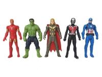 Игровой набор Супер герои Мстители 5 в 1 (Железный человек, Тор, Капитан Америка, Халк, Муравей)