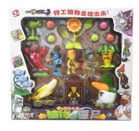 Игровой набор Зомби против растений из 6 растений, 4 зомби и шариков