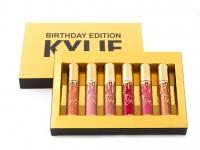 Набор матовых жидких губных помад Kylie Holiday Edition 6 оттенков мини набор №4